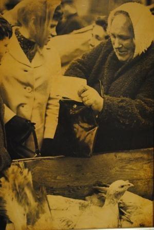 Annie Roe -Dundalk Market Circa 1960